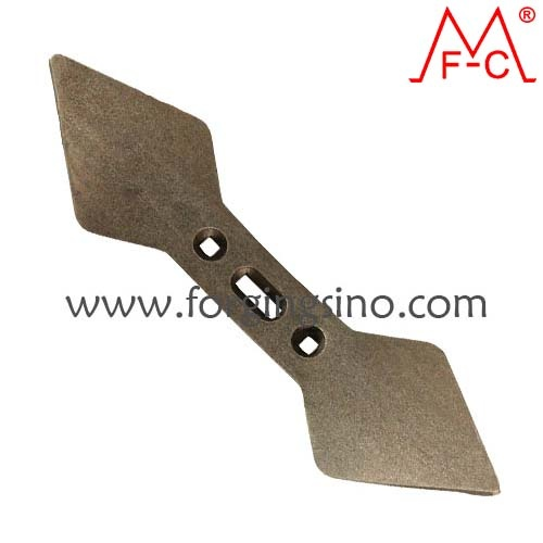Forged Cultivator tines tips-Boron steel