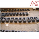 Steel Section pad mass production of Steel track