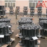 Mass production of Steel Cross hard bar track