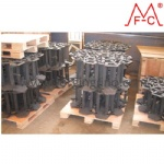 Mass production of Steel OTT over tire track