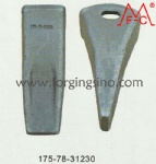 Forged teeth D155 175-78-31230
